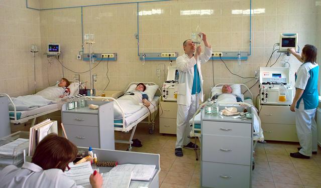 Лечебные отделения